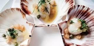 cuisine blanche sans poign馥 优惠名额只有20个 盛大法式晚餐 4道菜 2种红酒 法式煎扇贝肉 鸭胸肉