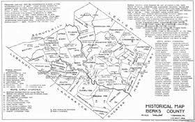 map of berks county pa berks county pennsylvania genealogy genealogy familysearch wiki