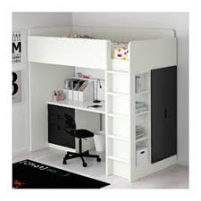 Standing Desk With Drawers by Ikea Stuva Loft Bed With 3 Drawers 2 Doors White Black You