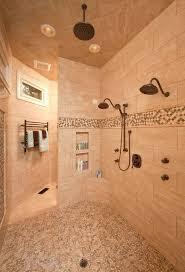 Small Bathrooms With Walk In Showers Doorless Walk In Shower Walk In Shower Small Bathroom Doorless