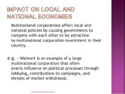 Universities As Multinational Enterprises The Multinational Impact Of Mncs