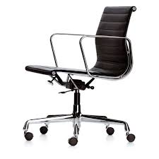Black And White Desk Chair by Aluminium Group Ea 117 Office Chair By Vitra