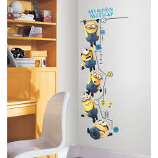 roommates rmk2107gc despicable me 2 growth chart peel and stick from the manufacturer