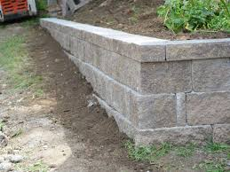 Ideas For Retaining Walls Garden by Retaining Wall Garden Ideas Retaining Wall Ideas That Will