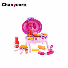 Toy Kitchen Set Food Online Get Cheap Grill Toys Aliexpress Com Alibaba Group