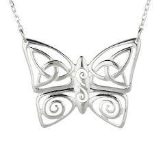 jmh jewellery sterling silver celtic butterfly pendant page 1