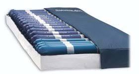 alternating pressure mattress supreme air blue chip medical