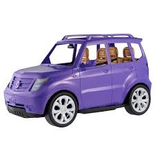 purple barbie jeep barbie suv car 28 00 hamleys for barbie suv car toys and games