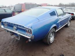1960s mustangs for sale 1967 ford mustang fastback flood damage stuff to buy