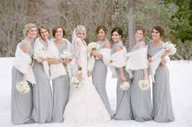 fur shawls for bridesmaids 33 gorgeous winter bridesmaids looks that inspire weddingomania