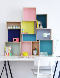 Ikea Office Storage 16 Colorful Offices To Get Your Creative Juices Flowing Storage