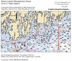 Boundary Waters Map Lobster Management Zone Maps Maine Department Of Marine Resources