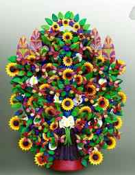 what is a mexican tree of zinnias folk and folk