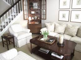 Classic Casual Home by Refreshed Neutral Living Room And Spring Flowers Classic Casual Home