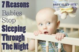 has your baby or toddler stopped sleeping through the here