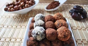 cuisiner truffe truffes choco noisettes crues association manger santé bio