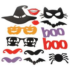 photo booth supplies 14pcs diy pumpkin photo booth props mask mustache