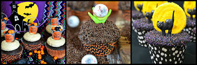 Easy Halloween Cup Cakes by Banana Pecan Trick Or Treat Halloween Cupcakes