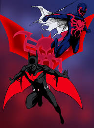 batman beyond batman beyond and spider man 2099 by edcom02 deviantart com on