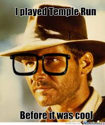 Indiana Jones Meme - hipster indiana jones by zombies eat pedos meme center