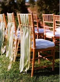 chair ribbons wedding ideas chair covers