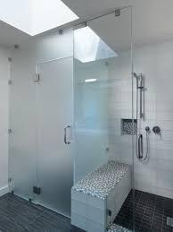 glass shower door grey color wall tiling sliding glass shower