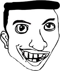 Rage Comic Meme Faces - rage face clipart 48