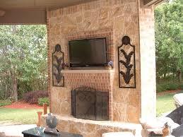 brick and stone fireplace paint brick fireplace to look like stone