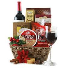 christmas wine gift baskets design it yourself gift baskets pete s deals4u