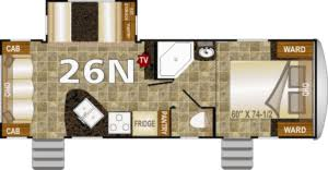 5th Wheel Rv Floor Plans Northwood Floor Plans And Products