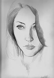 new face simple pencil sketch pencil sketch simple face drawing