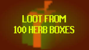 osrs loot from 100 herb boxes youtube