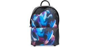 bloom backpack lyst ted baker cosmic bloom backpack in blue