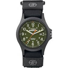 Indiglo Night Light Timex Expedition Tw4b00100 Expedition Acadia Green Dial Fast Wrap
