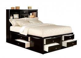 Bed Images Fabulous Queen Size Bed With Storage As A Replacement Of Closet