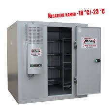 chambre froide n ative chambre froide négative 6 31 m3 avec étagères 18 23 livré en