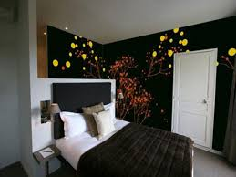 bedroom easy wall painting designs interior house colors room