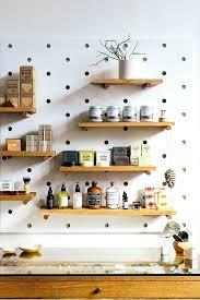 pegboard kitchen ideas peg board kitchen moute
