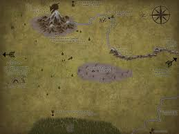The Hobbit Map The Map To The Lonely Mountain From The Hobbit Done In Inkarnate