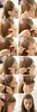 braided hairstyle instructions step by step 15 braided bangs tutorials cute easy hairstyles pretty designs