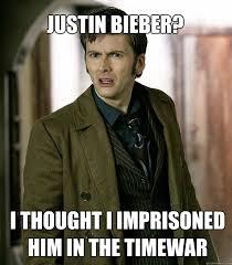 Justin Bieber Happy Birthday Meme - justin bieber i thought i imprisoned him in the timewar doctor