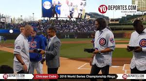 jason hammel travis wood and jorge soler receive world series