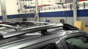 Luggage Rack For Honda Odyssey by Ridgeline Roof Rack Installation Honda Answers 71 Youtube