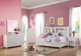 lacey white finish storage twin size bookcase daybed