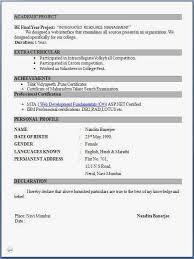 Modern Resume Format Fresher Resume Format Modern Resume Template 3723 Plgsa Org