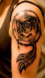 dragon dream catcher upper back dream catcher tattoo tattoobite com