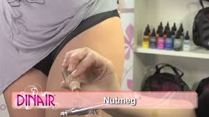 dinair airbrush makeup stretch marks cover up tutorial youtube