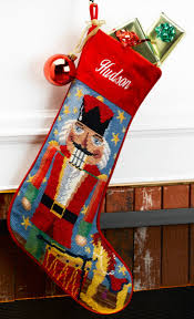 accessories knit christmas stocking personalized needlepoint