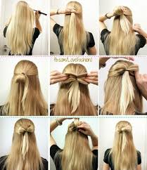 hair bow with hair 13 hair tutorials for bow hairstyles pretty designs