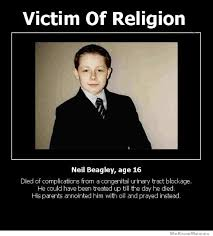 Funny Atheist Memes - victim of religion neil beagley weknowmemes